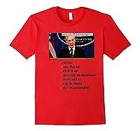 Mueller Trump Exonerated Impeach Premium T Shirt Red