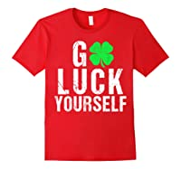 Funny Saint Patrick S Day T Shirt For Adults Red