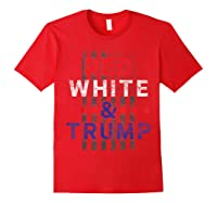 Red And Trump Usa Flag 2020 Election Donald Trump Shirts Red