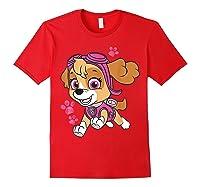 Paw Patrol Skye Jumping T-shirt Red