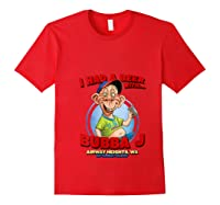 Bubba J Airway Heights Wa T Shirt Red
