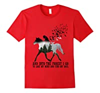 Trending Gift Shirt I Go To Lose My Mind And Find My Soul T Shirt Red