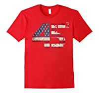 Trump 45 Squared 2020 Second Presidential Term Gift Shirts Red