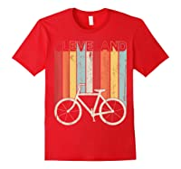 Retro Vintage Cleveland City Cycling Shirt For Cycling Lover Red