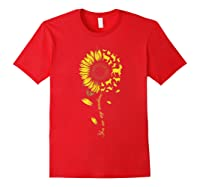 You Are My Sunshine Sunflower Goat For Woman Shirts Red