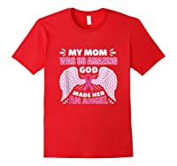 Mother S Memory Breast Cancer Awareness Month Pink Ribbon Tank Top Shirts Red
