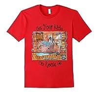 Bathing Burro Shirts Red