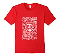 The Green Man Shirts Red