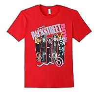 Vintage Backstreet Boy T Shirt Gift Halloween T Shirt Red