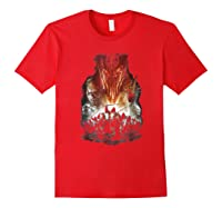Lord Of The Rings Evil Rising Shirts Red