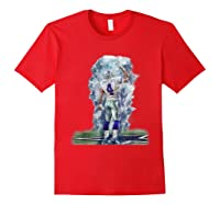 Cow Nation Of Legends Gift For T Shirt T Shirt Red