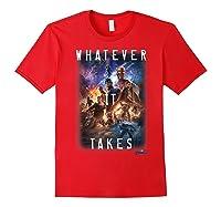 Marvel Avengers Endgame Movie Poster Whatever It Takes T-shirt Red