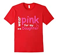 Breast Cancer Chemo Awareness Month T Shirt Red