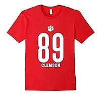 Clemson University Tigers 08amct1 Shirts Red