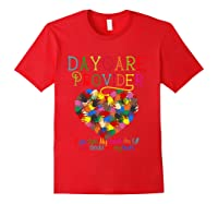 Daycare Provider Tshirt Appreciation Gift Childcare Tea T Shirt Red