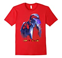 S Darth Vader Shadow Silhouette Shirts Red