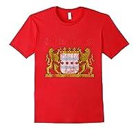 Oktoberfest Chicago Bavaria Germany T-shirt Red