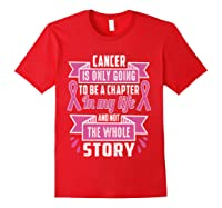 Breast Cancer Awareness Month Pink Ribbon Warrior T T Shirt Red