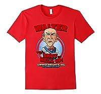 Walter Airway Heights Wa Shirts Red