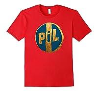 Pil Blue Gold Logo Shirts Red