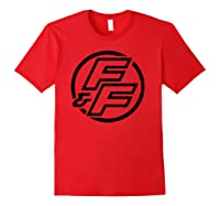 Fast Furious Bold Line Hollow Logo Pullover Shirts Red