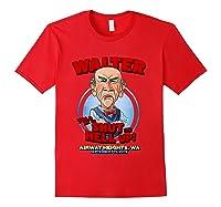Walter Airway Heights Wa T Shirt Red