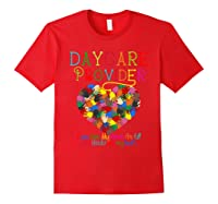 Daycare Provider Tshirt Appreciation Gift Childcare Tea Red
