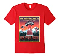 Alien Ufo 5k Fun Run Storm Area 51 Shirts Red