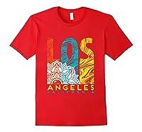 Los Angeles Shirt California City Los Angeles T Shirt Red