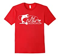 Reel Cool Dad Fishing Daddy Father's Day Gift Shirts Red