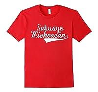 Sahuayo Michoacan T Shirt Red