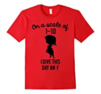 Pixar Inside Out Scale Of 1 10 Graphic Shirts Red