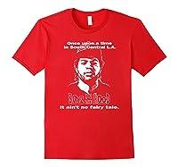 Boyz N The Hood Dougy Once Upon A Time Vintage Shirts Red