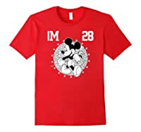Disney Mickey Mouse Academy T Shirt Red