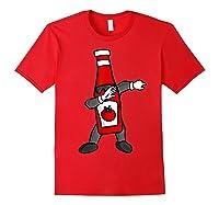 Ketchup Dab Pose T-shirt Red