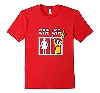 Tigers Lsu, My Wife Apparel Shirts Red