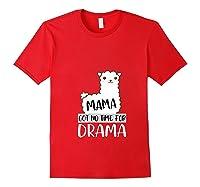 Mama Mothers Day Drama 2019 Shirts Red