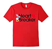 Disney Daisy Valentine Heartbreaker T Shirt Red