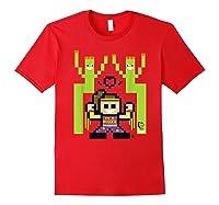 8 Bit Bayley Shirts Red