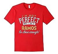 Ramos Family Reunion Shirts Red