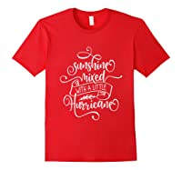Sunshine Mixed Little Hurricane Shirts Red