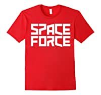 Space Force () Shirt Red