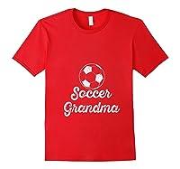 Soccer Grandma Shirts Red