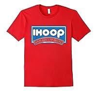 Ihoop Buckets For Breakfas Fun Basketball Shirts Red