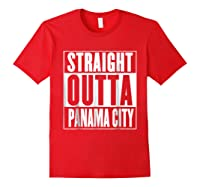 Straight Outta Pa City Shirt Red