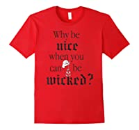 Disney Being Wicked Graphic T Shirt Red