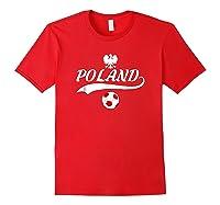 Poland Team World Fan Soccer 2018 Cup Fan T Shirt Red