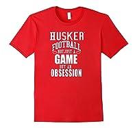Nebraska Cornhuskers Husker Football Apparel Shirts Red