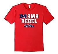Ole Miss Rebels Mama Mascot T-shirt - Apparel Red
