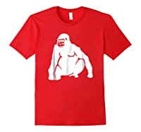 Huge Gorilla T-shirt Red